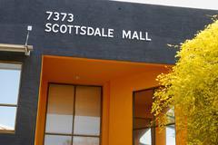 Liike Arizona scottsdale mall toimistot palo Kuvituskuvat