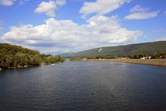 River day Stock Photos