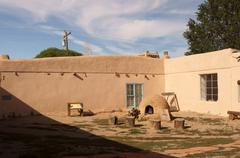 Kit carson house museum taos new mexico latino Stock Photos
