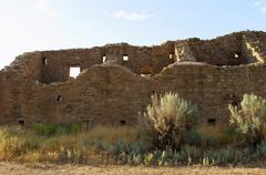 Aztec ruins national monument park new mexico nm Stock Photos
