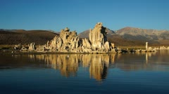 Mono Lake, CA, USA - stock footage