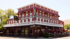 Historic saint st. st charles hotel carson city Stock Photos