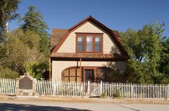 Mary austin house winnedumah california ca Stock Photos