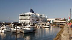 Norwegian star cruise ship seattle washington wa Stock Photos