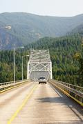 Bridge gods washington wa advantage benefit form Stock Photos