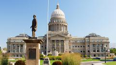 State Capitol Building Boise Idaho id patsas Kuvituskuvat