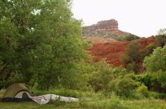 palo duro canyon amarillo texas tx historic 66 - stock photo