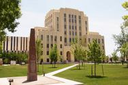 Stock Photo of federal courthouse amarillo texas tx government