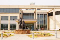 Stock Photo of statue exterior outside history center 23rd blvd