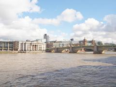 Stock Photo of river thames in london