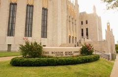 Boston ave united methodist church tulsa ok Stock Photos