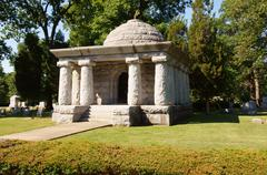 Stock Photo of governor john riley tanner tomb oad ridge