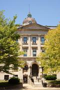 mclean county courthouse museum history illinois - stock photo