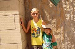 Kids children boys buddies pals portrait 2012 66 Stock Photos