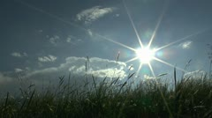 Sun Star Scenic Stock Footage