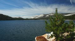 Tenaya Lake #5, Yosemite - stock footage