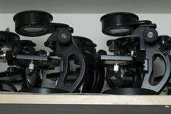 microscopes - stock photo