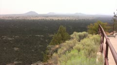 Lava Beds 03 Devils Homestead Stock Footage