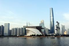 guangzhou, china - stock photo