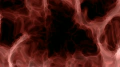 Red unknown material waves and motions Stock Footage