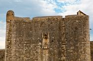 Stock Photo of city walls of dubrovnik, croatia