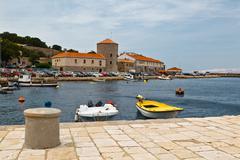 Stock Photo of mediterranean town senj near istria, croatia