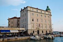 Harbor in split, croatia Stock Photos