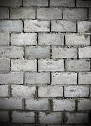 dark brick wall - stock photo