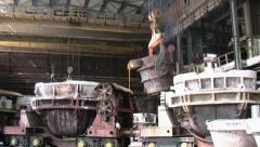 Metallurgy Stock Footage