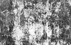 grungy scratched urban wall - stock photo