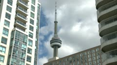 Toronto CN Tower Stock Footage