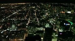 Elevator Toronto Skyline Stock Footage