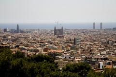 View of Barcelona. Spain. Stock Photos