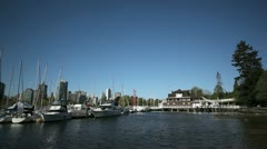 Vancouver Marina Stock Footage