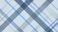 Blue checked fabric loopable background Stock Footage