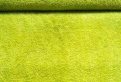 green textured material - stock photo