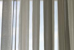White curtain Stock Photos