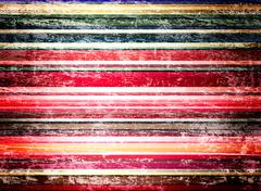 shabby striped background - stock photo