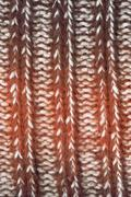close-up natural fabric wool texture to background - stock photo