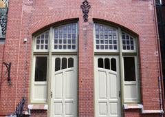Art nouveau door Stock Photos