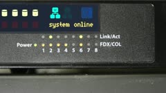 Router - stock footage