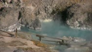 Hot Springs 11 Hot Creek Geothermal Area Stock Footage