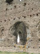 janus temple in autun - stock photo