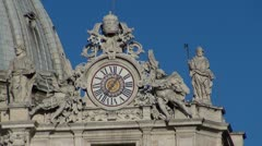 St. Peter architectural details Stock Footage