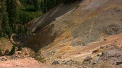 Lassen 36 Sulphur Works - stock footage