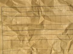 Stock Photo of rippled paper