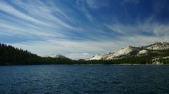 Tenaya Lake, Yosemite, time-lapse - stock footage