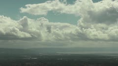 Clouds and Sea Stock Footage