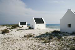 White houses on beach Stock Photos