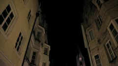 Bressanone by night Stock Footage